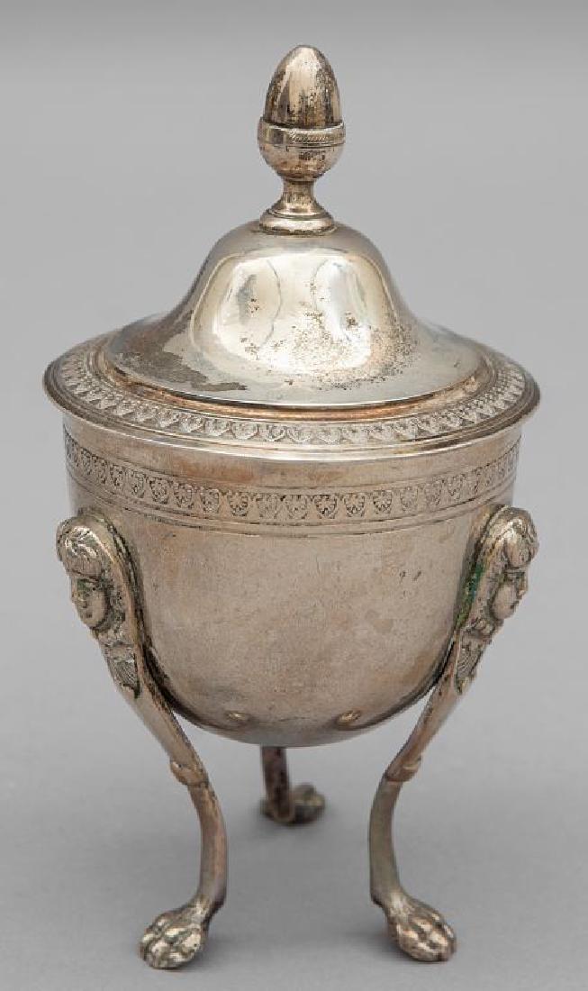 Zuccheriera Impero in argento, Roma I metà