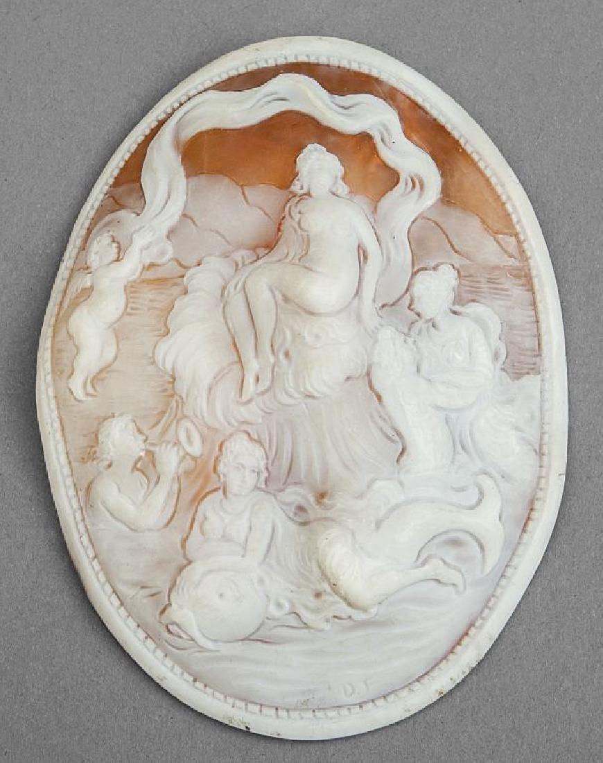 Cammeo raffigurante il trionfo di Venere,