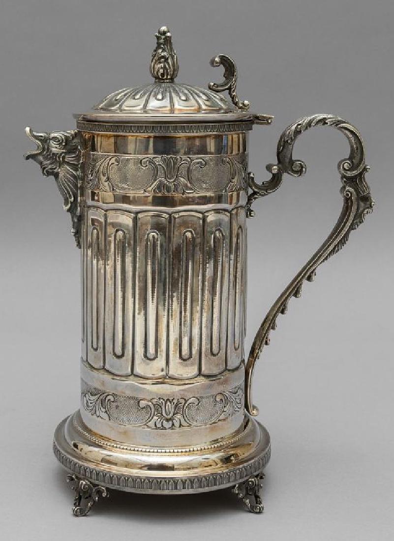 Brocca in argento (gr.620)