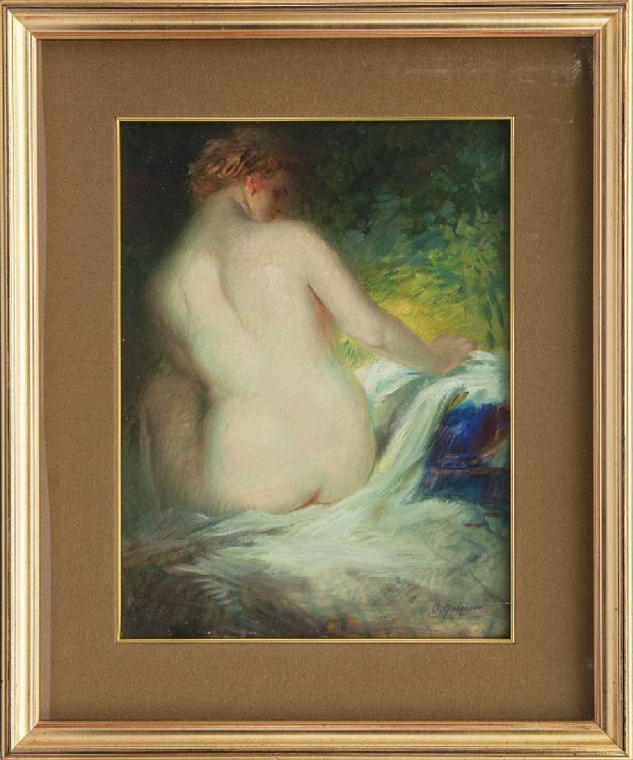 O.Gaigher (Levico 1870 Merano 1938) Nudo di