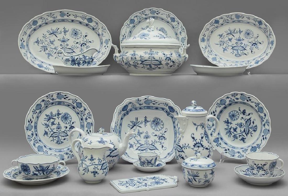 Servizio di piatti in porcellana di Meissen