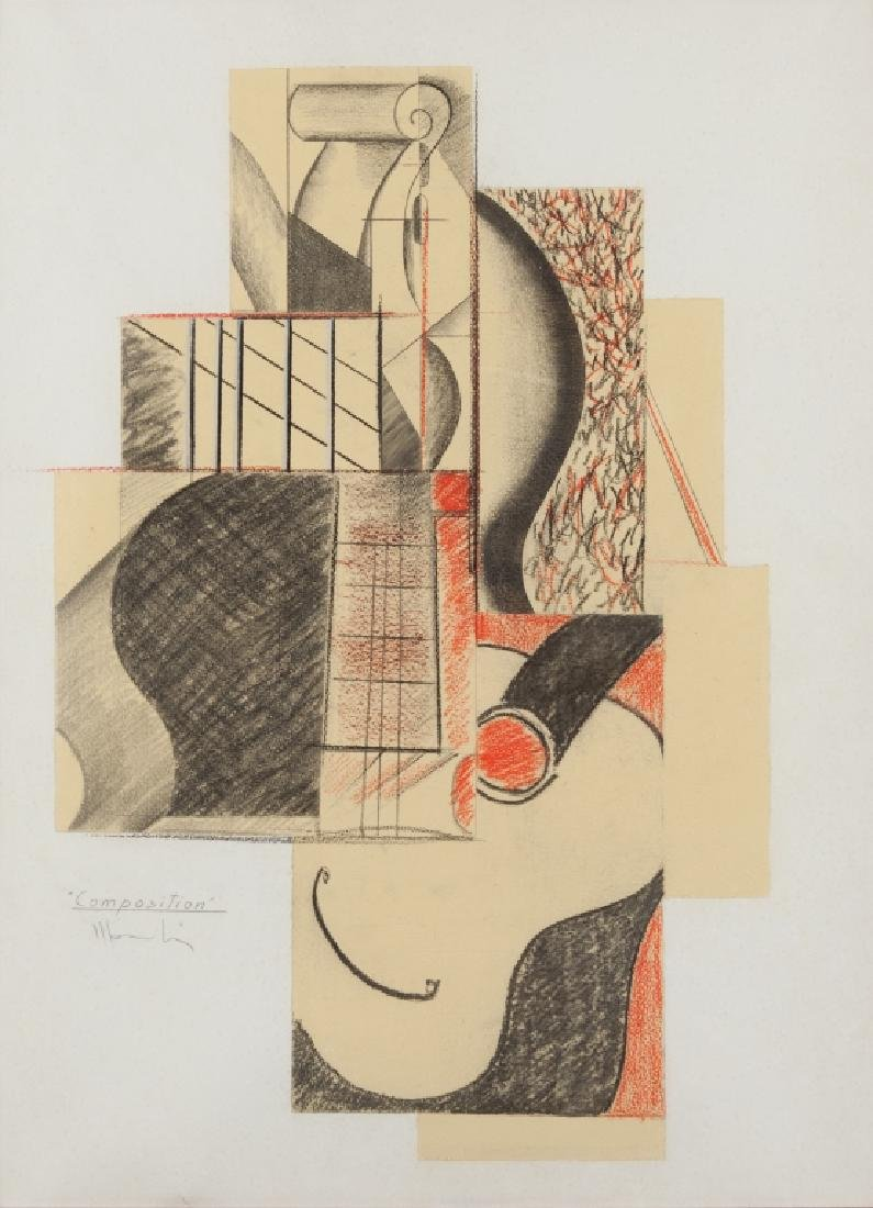 ALDO MONDINO (1938-2005)  Composition