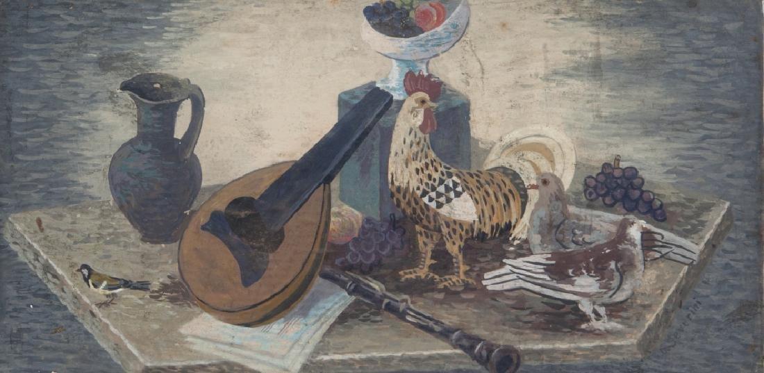 GINO SEVERINI (1883-1966)  Natura Morta