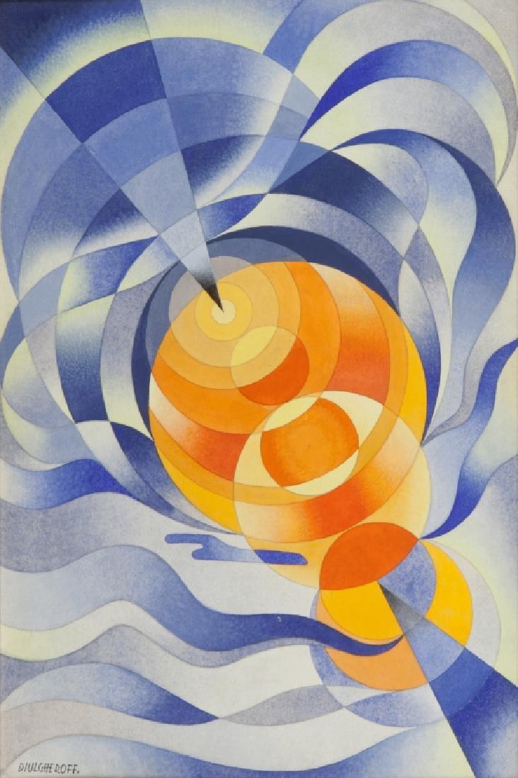 NICOLAY DIULGHEROFF (1901-1982)  Punto limite