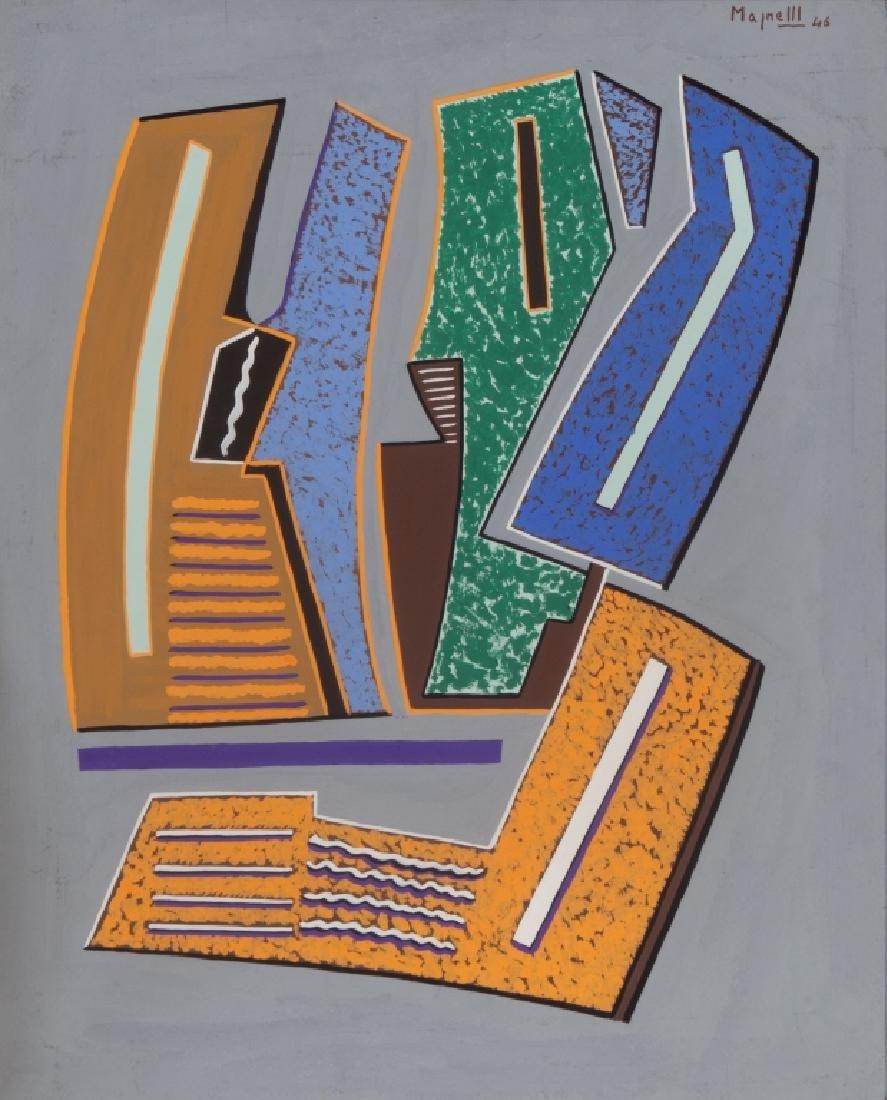 ALBERTO MAGNELLI (1888-1971)  Composizione