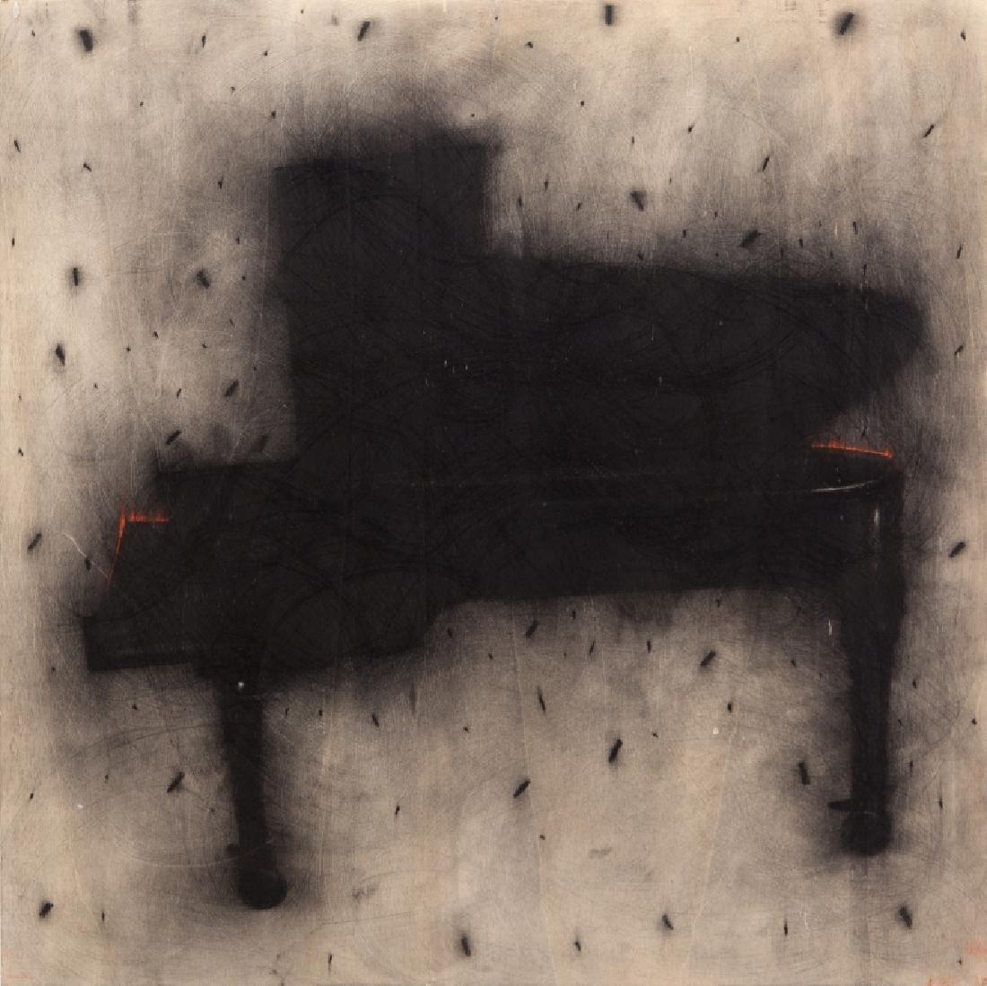 OMAR GALLIANI (1954-)  Notturno  grafite su