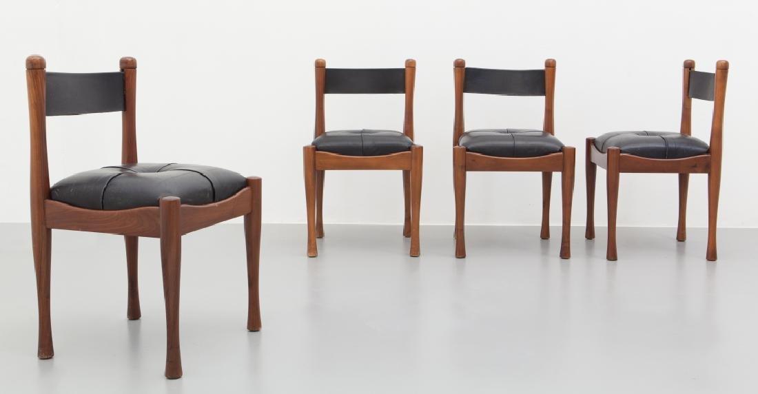 SILVIO COPPOLA Quattro sedie '620' per