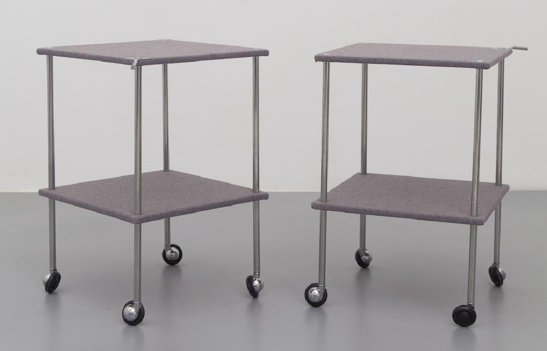 LUIGI CACCIA DOMINIONI  Una coppia di tavolini
