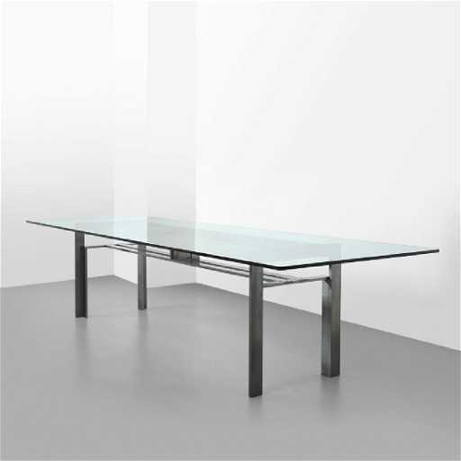 CARLO SCARPA Un tavolo \'Doge\' per SIMON, 1969.
