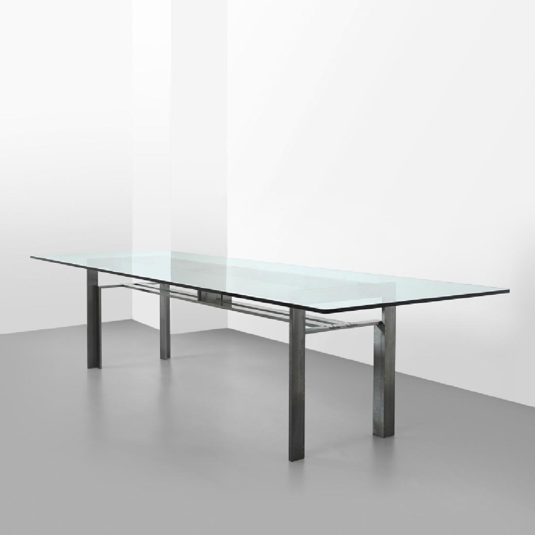 CARLO SCARPA Un tavolo 'Doge' per SIMON, 1969.
