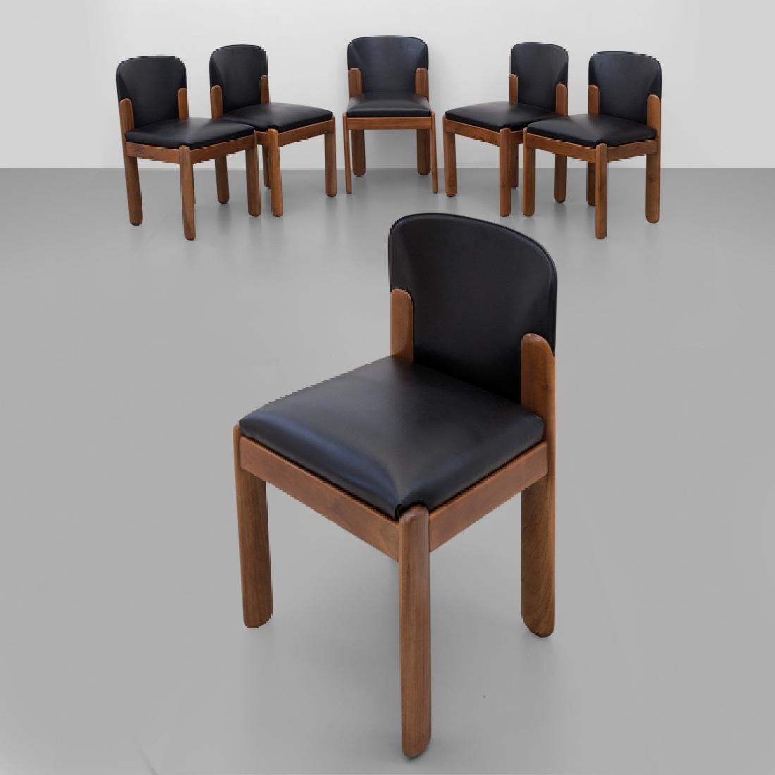 """SILVIO COPPOLA  Un insieme  di sei sedie """"330"""""""