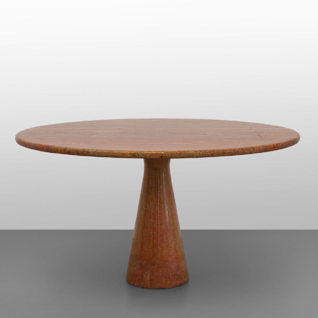 """ANGELO MANGIAROTTI  Un tavolo """"M1"""" per"""
