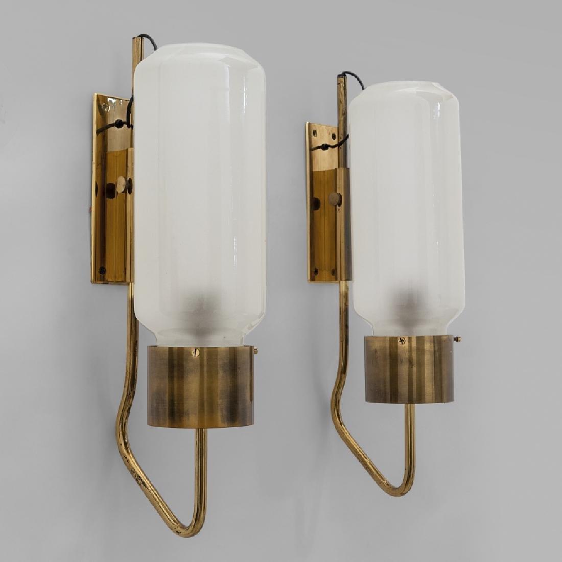 LUIGI CACCIA DOMINIONI Due lampade a parete