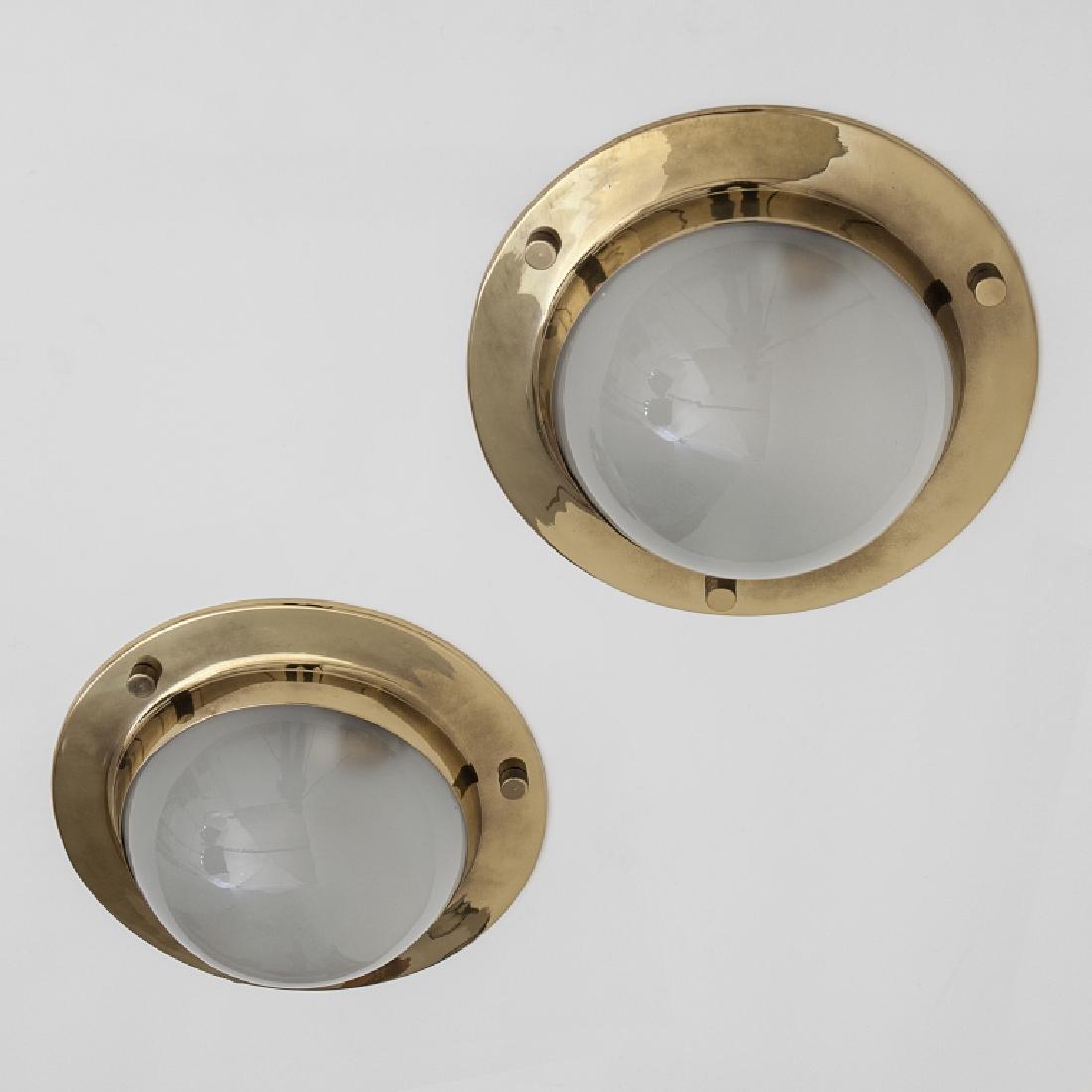 LUIGI CACCIA DOMINIONI Due lampade a parete o