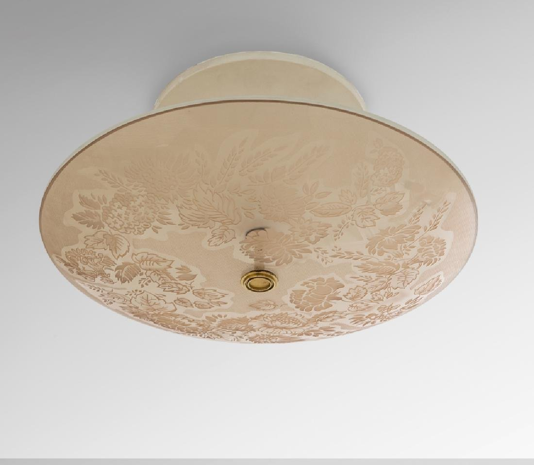 PIETRO CHIESA  Una lampada a plafone per