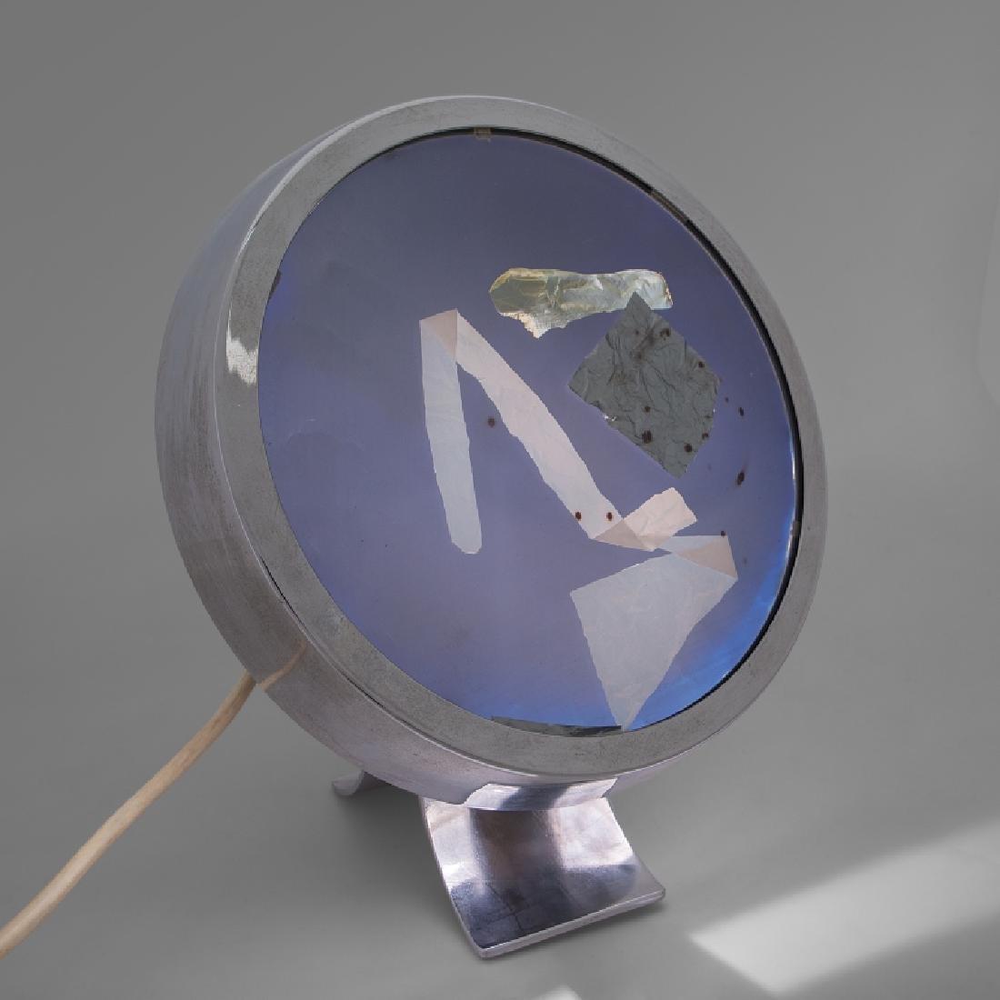 PAOLO TILCHE Una lampada da tavolo a