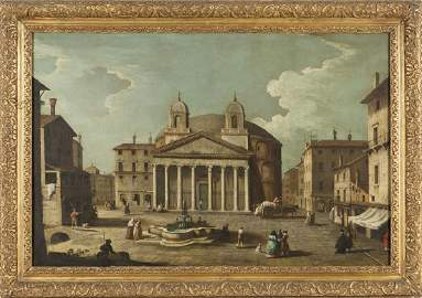"CANAL BERNARDO (1674-1744)  ""Veduta del"