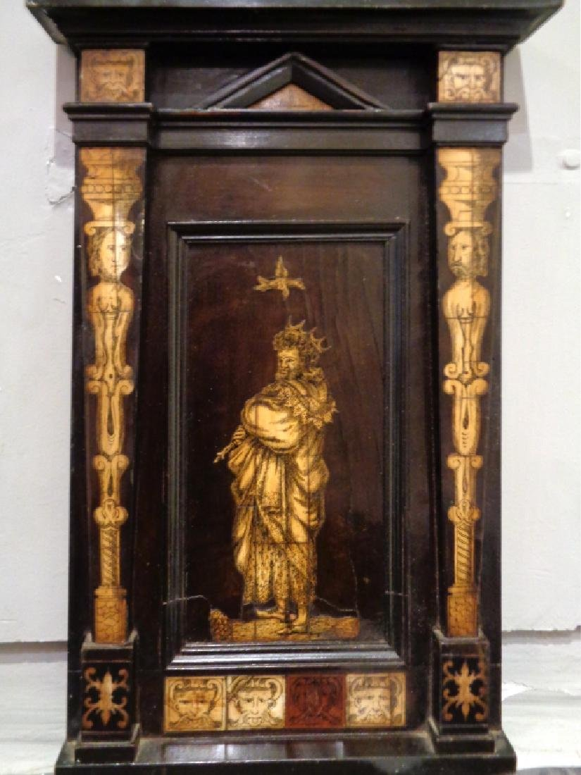 Quadretto con intarsio in avorio cm.22x41