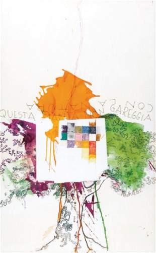 MARIO SCHIFANO (1934-1998) Questa pianta non