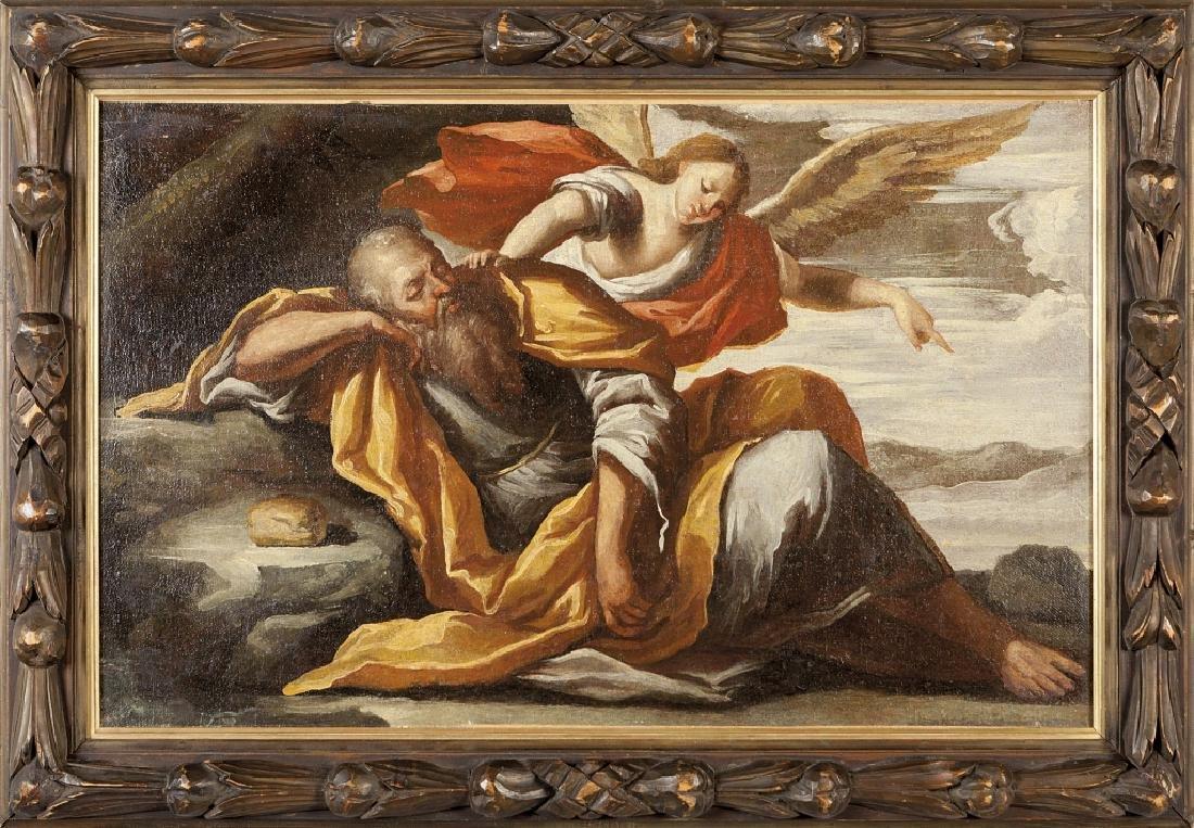 "Scuola italiana sec.XVIII ""Scena Biblica"""