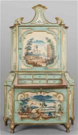Trumeau Luigi XIV ad uno sportello in legno