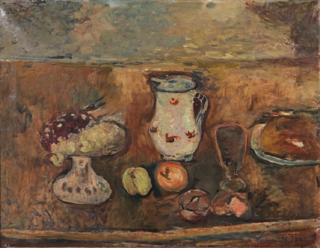 ARTURO TOSI (1871-1956)  Natura morta con vaso