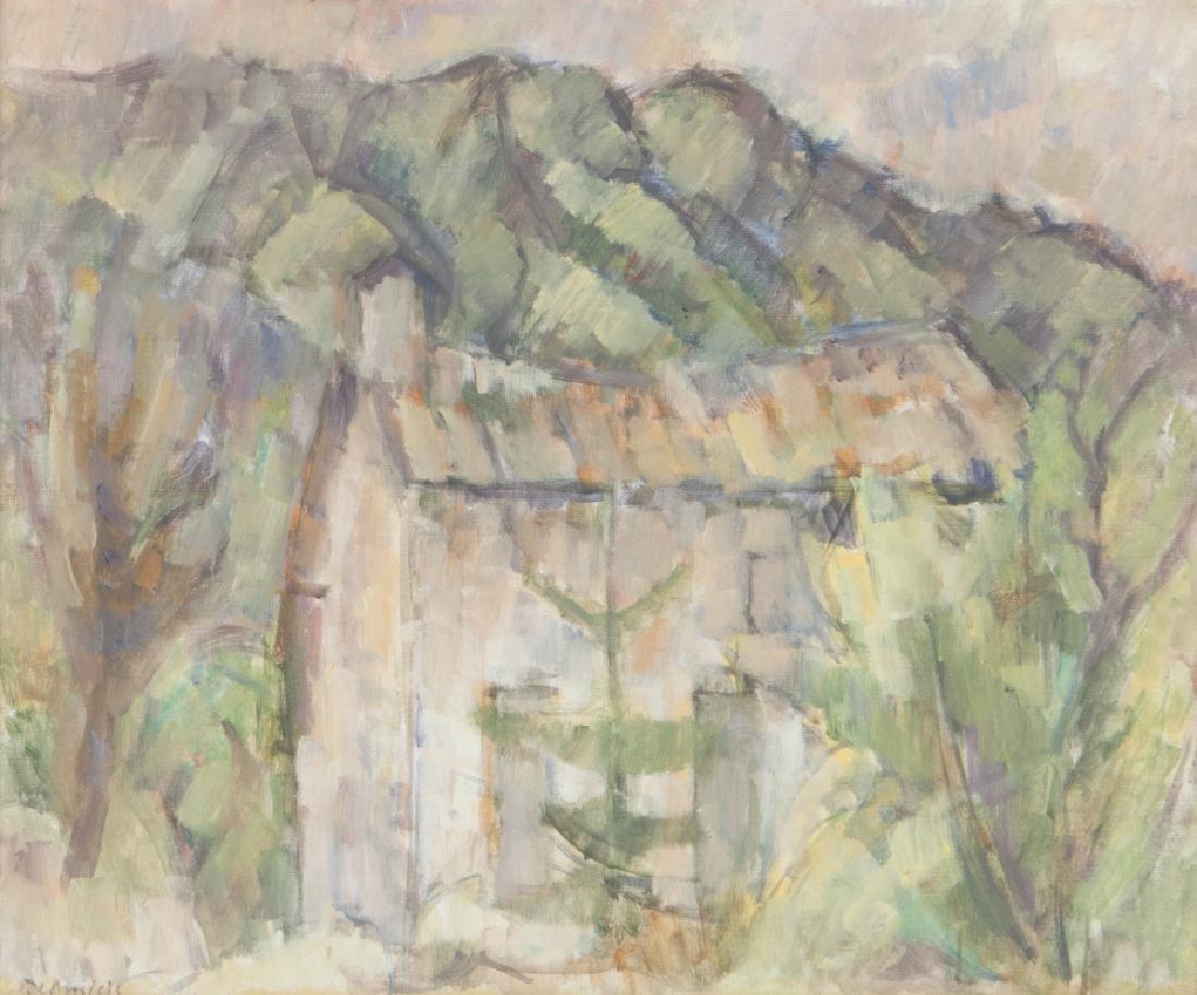 CRISTOFORO DE AMICIS (1902-1987)  Paesaggio a