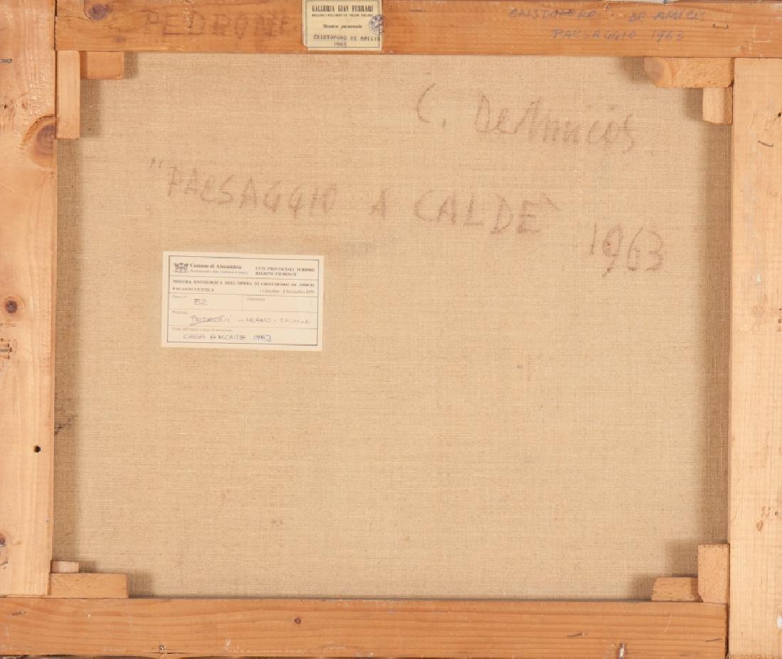 CRISTOFORO DE AMICIS (1902-1987)  Paesaggio a - 2
