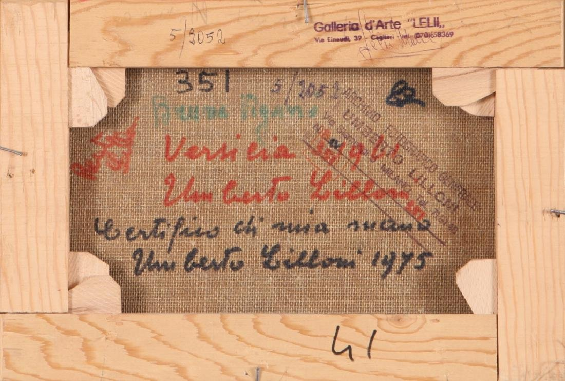 UMBERTO LILLONI (1898-1980)  Versilia - 2