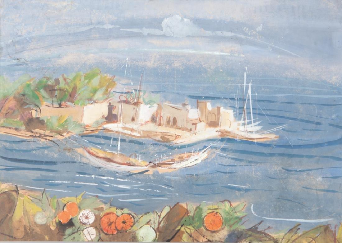 LUIGI SPAZZAPAN (1889-1958)  Paesaggio