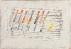 JEAN FAUTRIER (1898-1964)  Red Vermillion