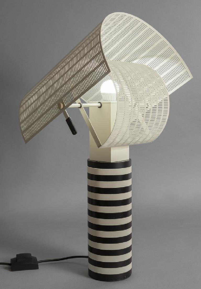 MARIO BOTTA  Una lampada da tavolo 'Shogun'