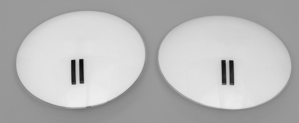 BRUNO GECCHELIN Due lampade da parete della