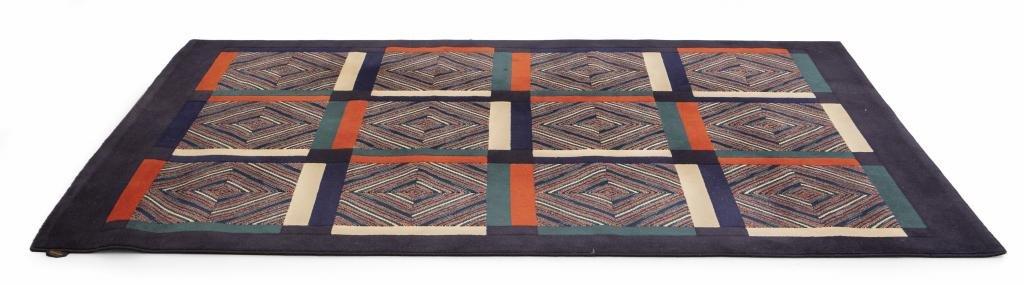 MISSONI Un tappeto, anni '80.  Cm 180 x