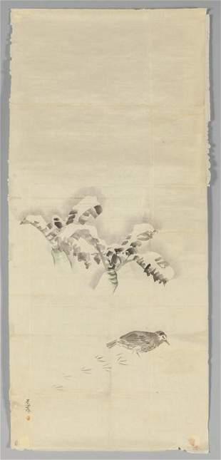 Matzumura Goshun 17521811 Uccellino che