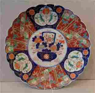 Piatto in porcellana Imari Giappone