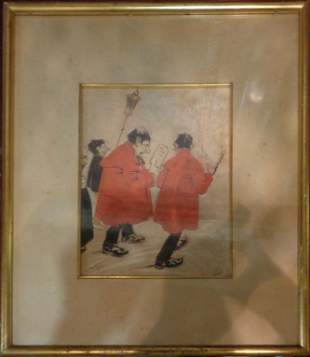 Disegno acquarellato cm18x22