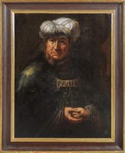 """Scuola veneta sec.XVII """"Ritratto di gentiluomo"""