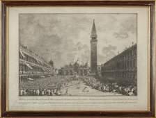 "CANALETTO ANTONIO (1697-1768)  ""Piazza San"