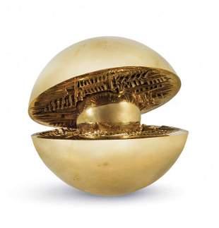 ARNALDO POMODORO (1926-) Rotante con sfera
