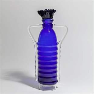 VITTORIO FERRO VETRERIA PAGNIN Un vaso a