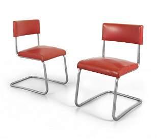 COVA Editore Due sedie a sbalzo anni 40