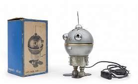 UNA LAMPADA DA TAVOLO Robot anni 80