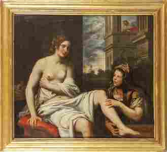 DOMENICO FIASELLA (1589-1669)  Betsabea al