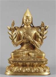 OGGETTISTICA (-)  Je Tsongkhapa seduto in