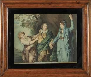 BROWN JOHN 17521787 Scena di teatro con