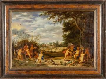 VAN OOSTEN ISAAC (1613-1661)  e Pieter Van