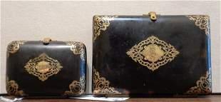 Carnet da ballo e piccolo portamonete in