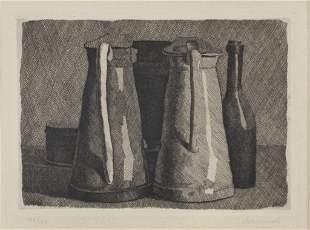 GIORGIO MORANDI (1890-1964) Natura morta con