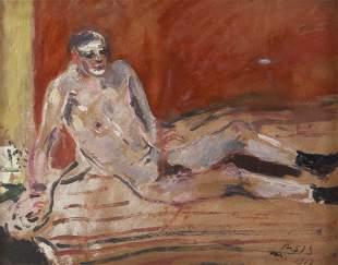 FILIPPO DE PISIS (1896-1956) Nudo d'uomo